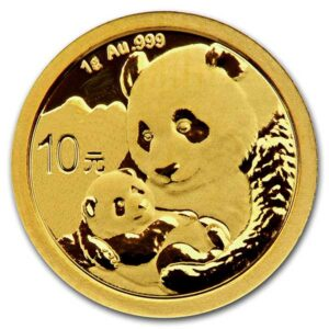 Chinese Panda Gold - 1 Gram, .999 Purity