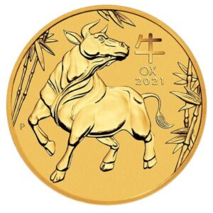 Perth Mint Lunar Series - 2021 Year of the Ox, 1 Oz .9999 Gold