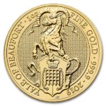 Queen's Beast Yale - 1 oz .9999 Pure Gold