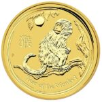 Perth Mint Lunar Series - 2016 Year of the Monkey, 1 Oz .9999 Gold