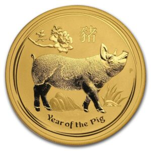 Perth Mint Lunar Series - 2019 Year of the Pig, 1 Oz .9999 Gold
